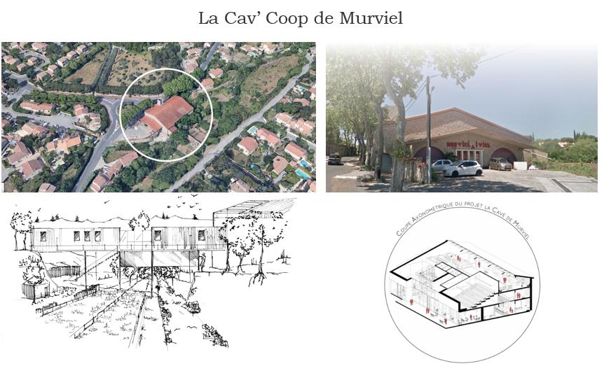 La Cave Coop' projet de tiers lieu à Murviel les Montpellier